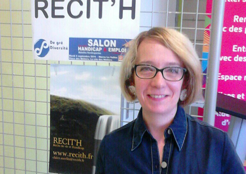 Claire Merlin, ou l'art d'enchanter le handicap dans le monde du travail