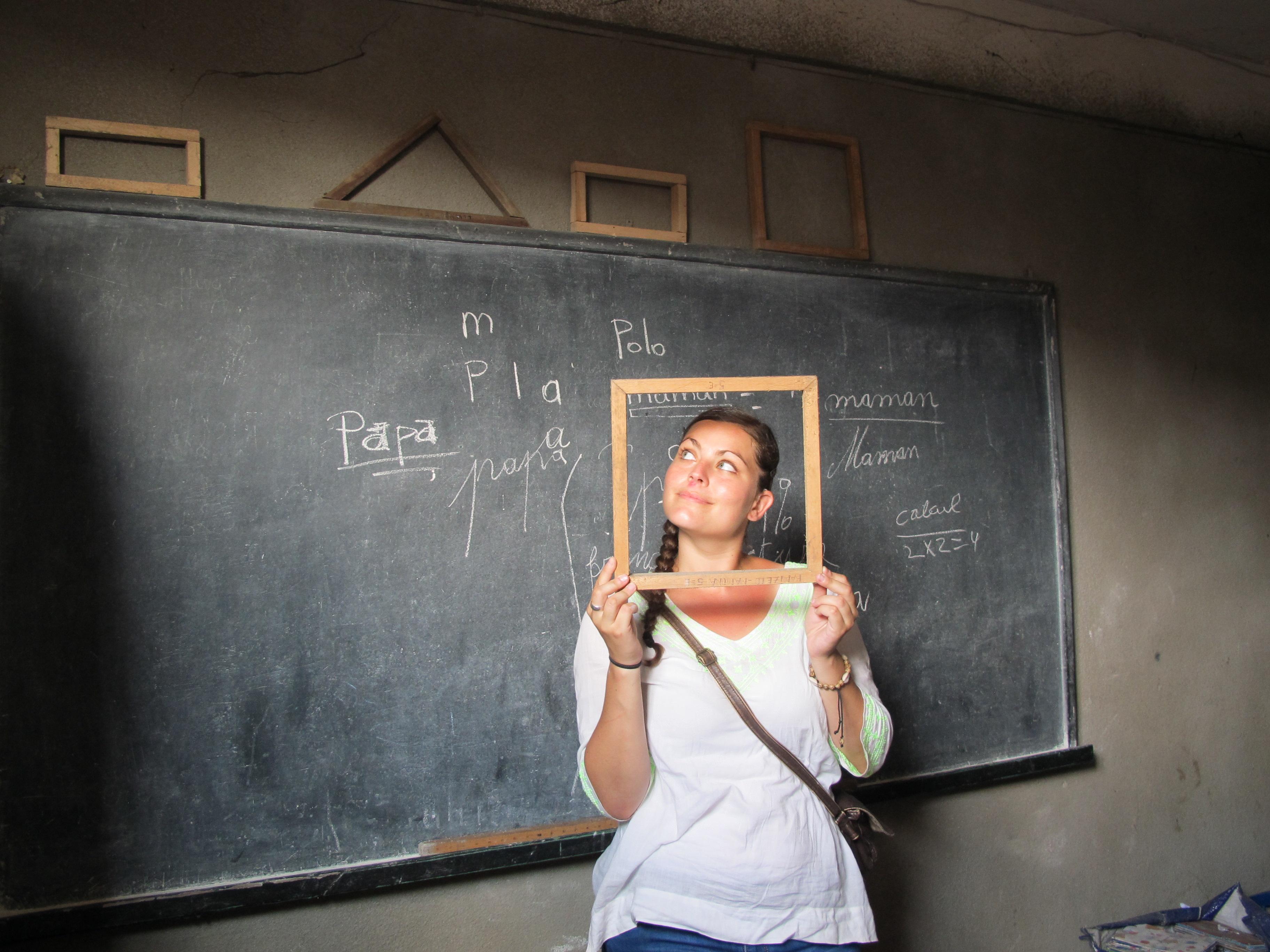Enseigner au Congo-Kinshasa…