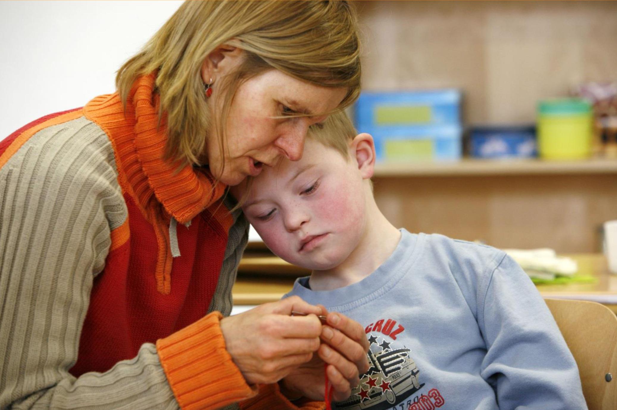 Séance d'information sur les droits sociaux de l'enfant avec handicap