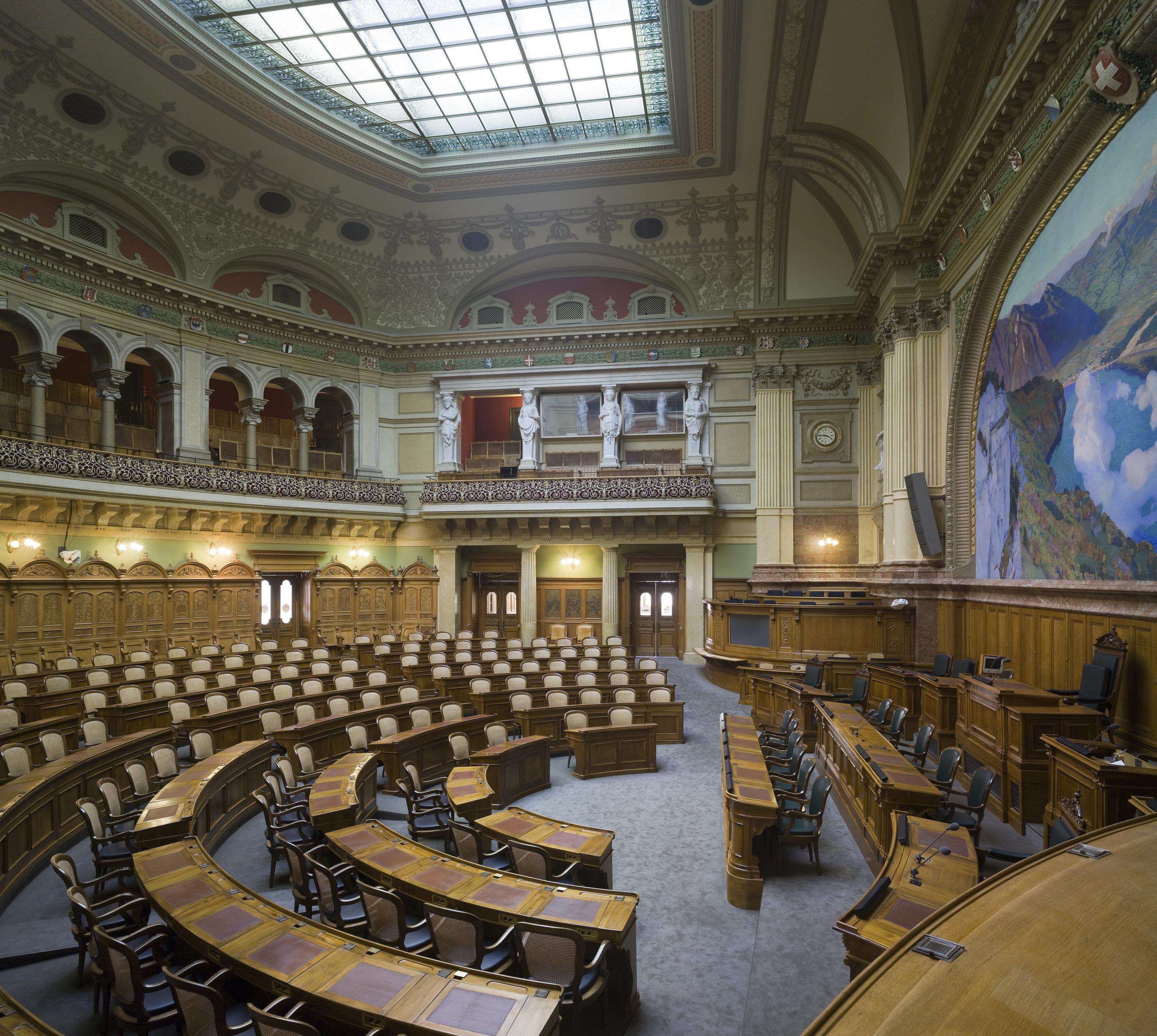 Berne : Un Palais fédéral accessible aux malentendants