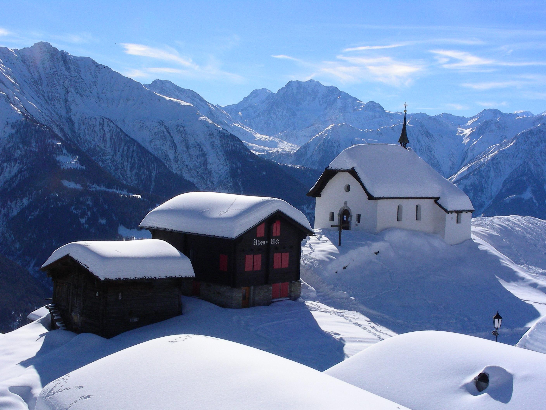 Hiver blanc en Valais