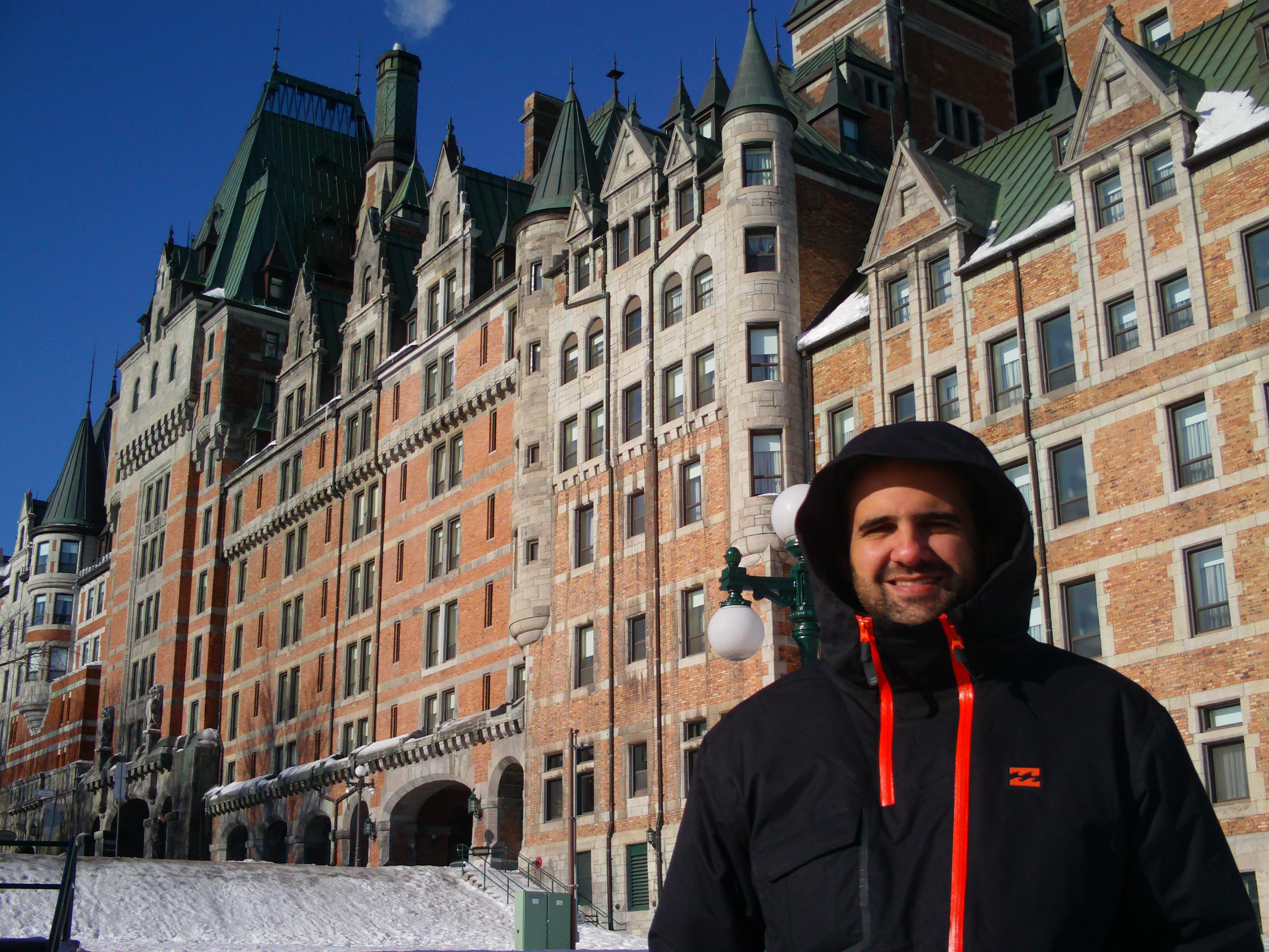 Road trip dans l'hiver canadien
