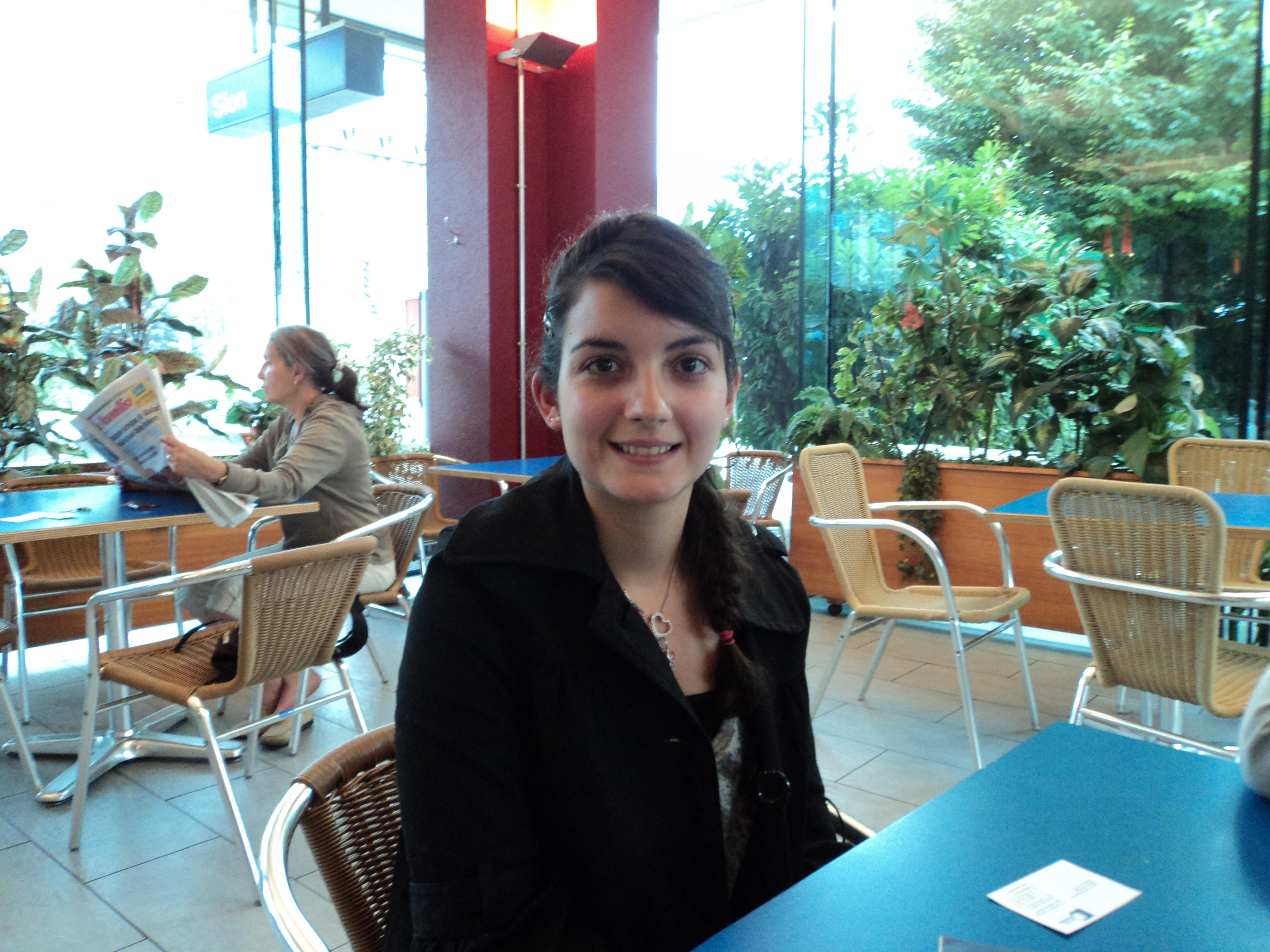 Patricia Grilo de Almeida: « ne jamais abandonner »