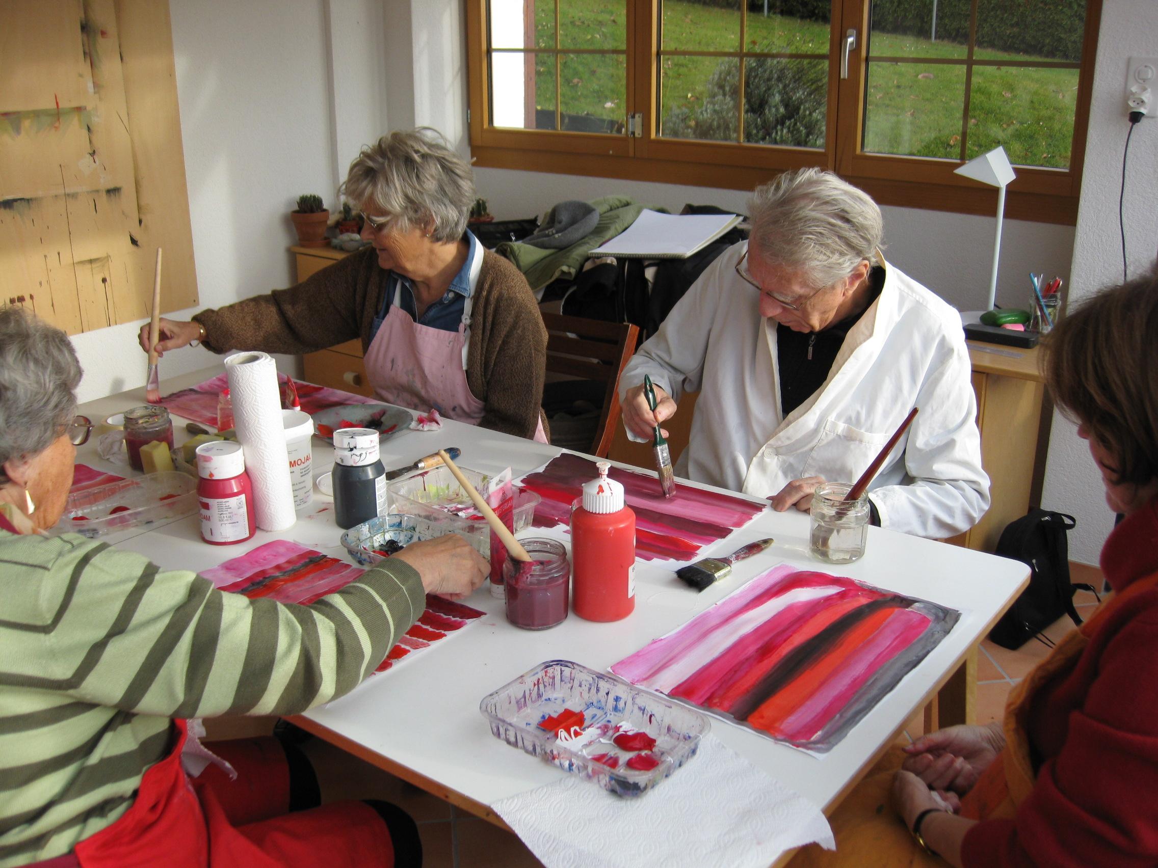 Atelier d'expression créatrice pour malentendants : retrouver son potentiel créatif