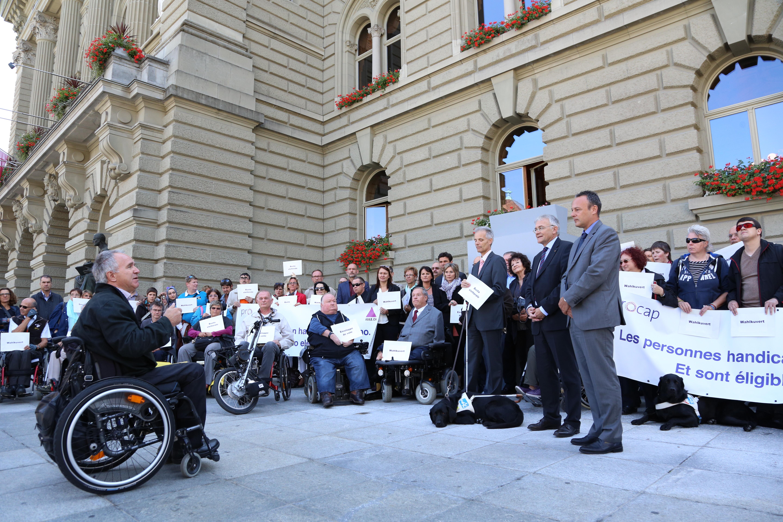 Participation politique des personnes handicapées