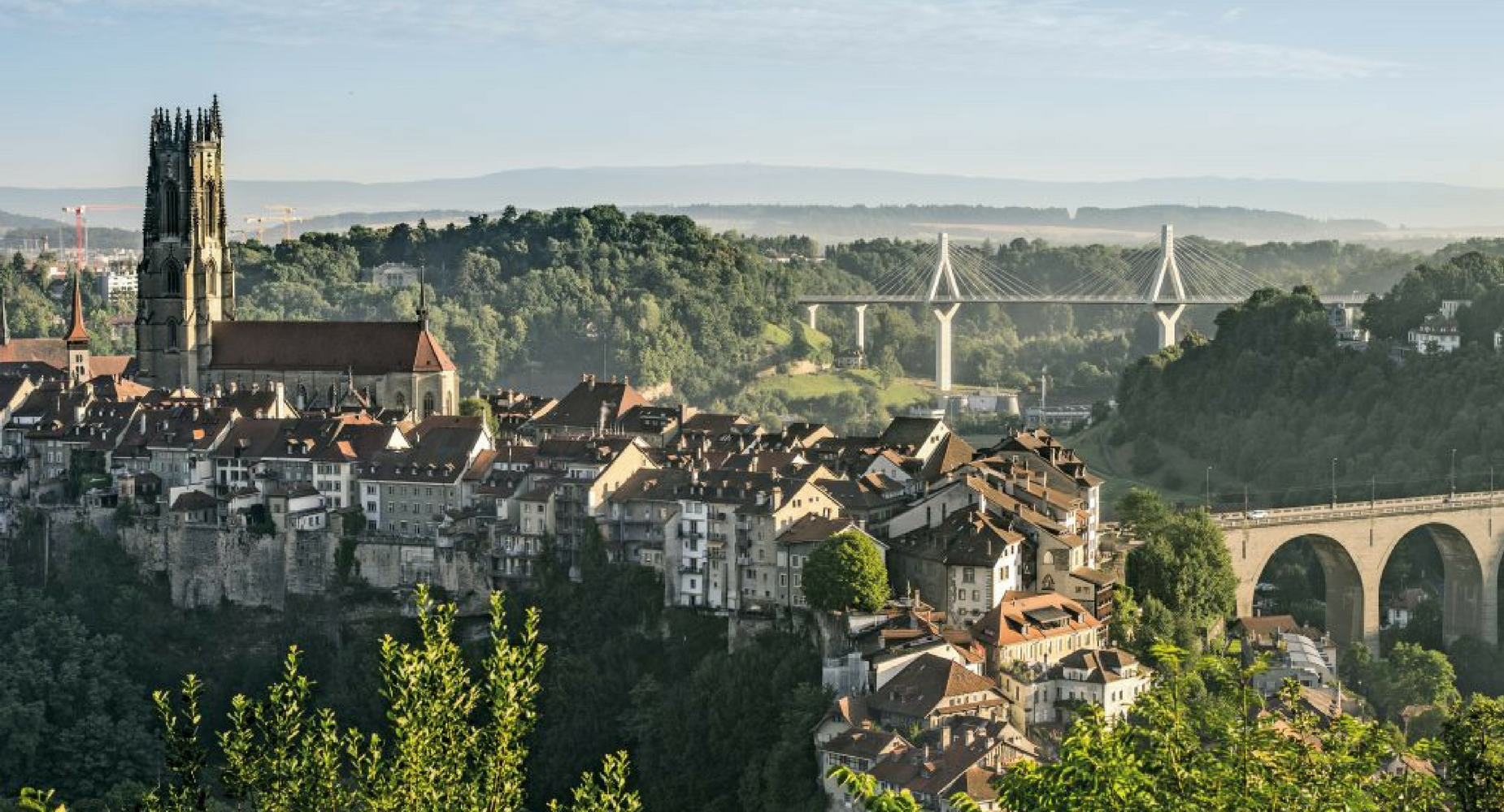 Visite guidée de Fribourg « Belle Epoque »