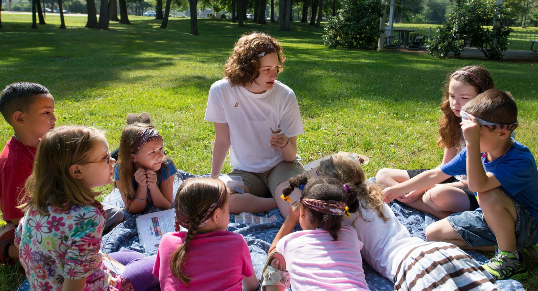 Camp pour enfants sourds (langue des signes, LPC et oral) – Fondation Suisse des Sourds + ECES