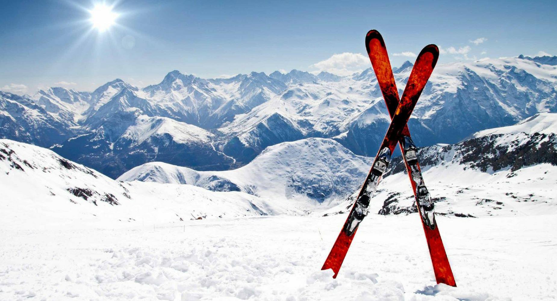 Sortie de ski, snowboard et de raquette