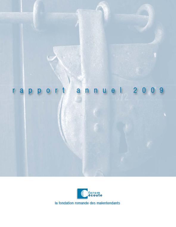 Rapport annuel de l'année 2009