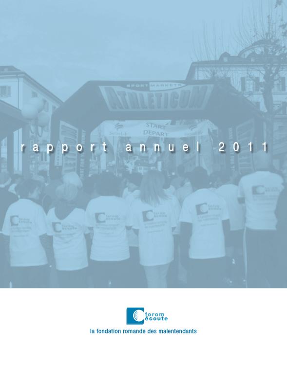 Rapport annuel de l'année 2011
