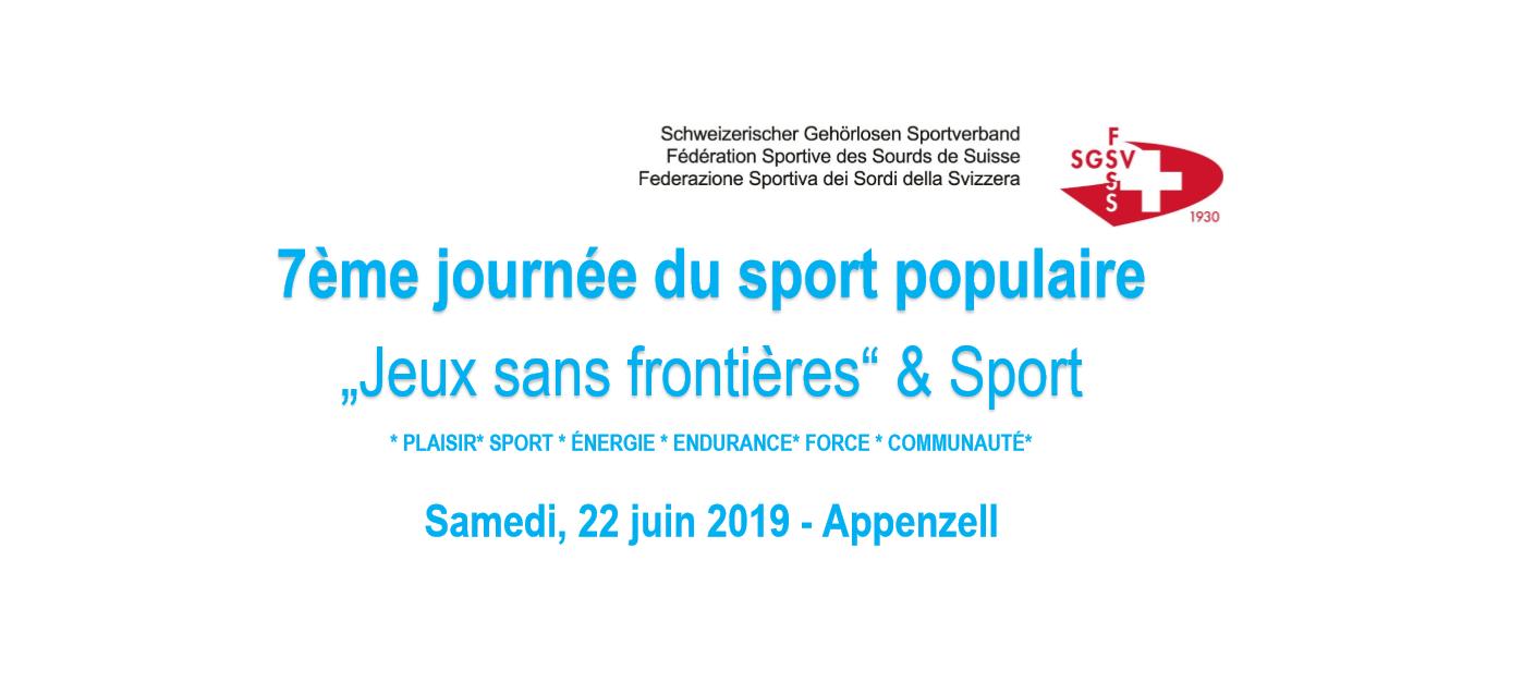 7éme journée du sport populair – FSSS