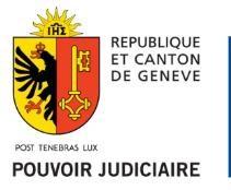 Visite guidée du Palais de justice à Genève