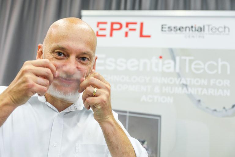 Genève va produire massivement des masques transparents