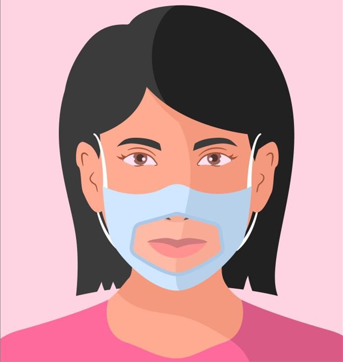 forom écoute vous accompagne dans la commande des masques transparents